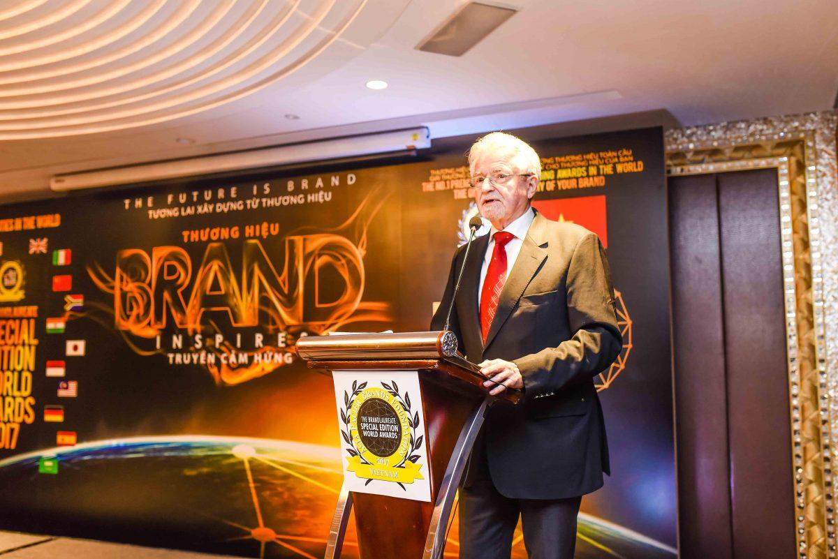 Ngài Rainer Althoff - Chủ Tịch Tổ Chức Thương Hiệu Châu Á Thái Bình Dương