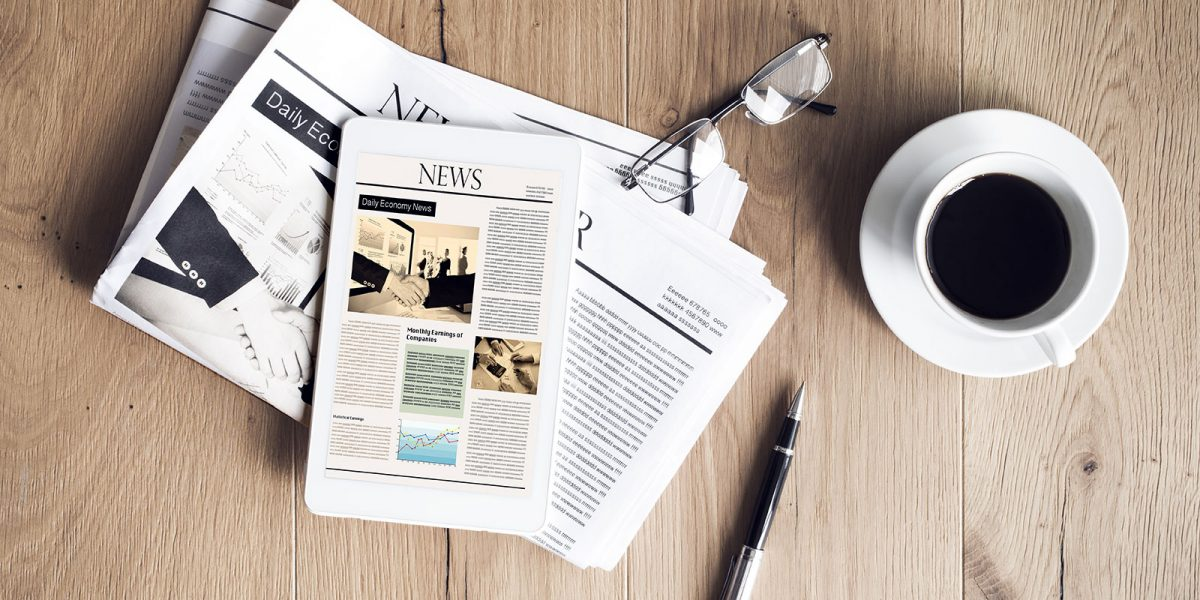 newspaper-and-coffee-on-table