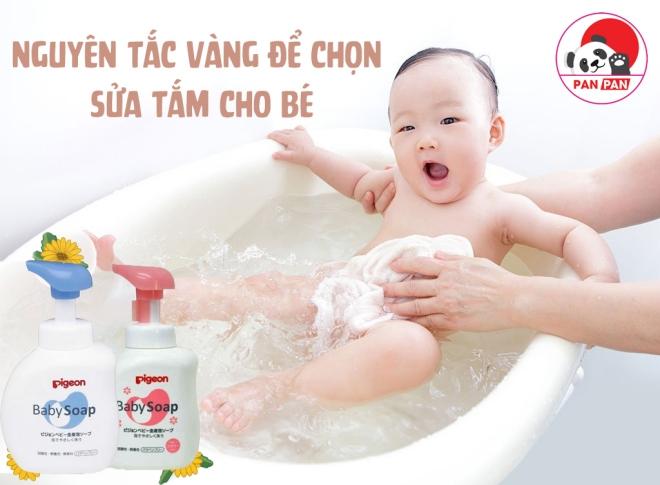 chon-sua-tam-cho-be